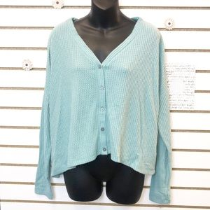 Wild Fable Soft & Slightly Cropped Long Sleeve Top
